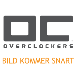 Vinklad CEE 7/7 till IEC 60320 C5 apparatkabel, 1m - Svart