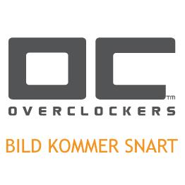 IEC 60320 C14 till IEC 60320 C13 förlängningskabel, 1m - Svart